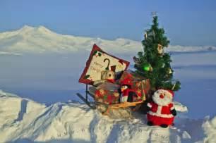 christmas scenery photo information