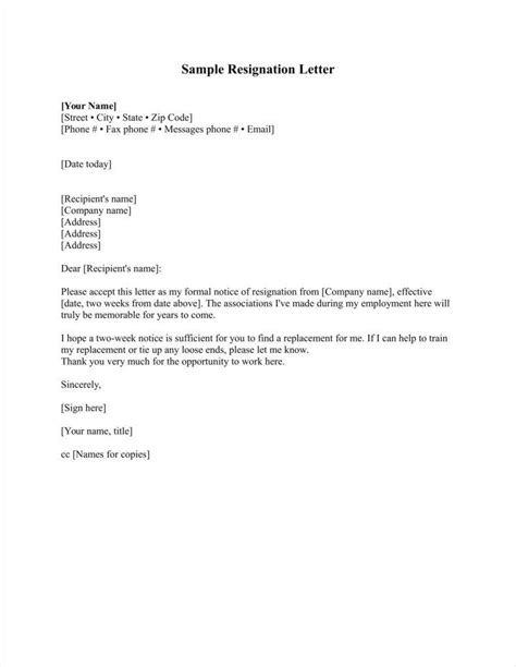 33 Simple Resign Letter Templates Free Word Pdf Excel Format Download Free Premium Resignation Letter Template Free