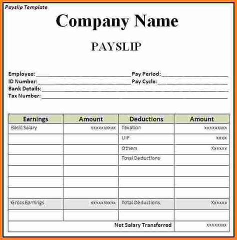 nsw payslip template nsw payslip template awesome free wage slip template