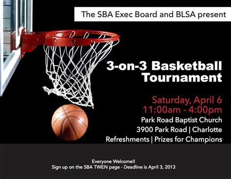 3 on 3 basketball tournament flyer template sba