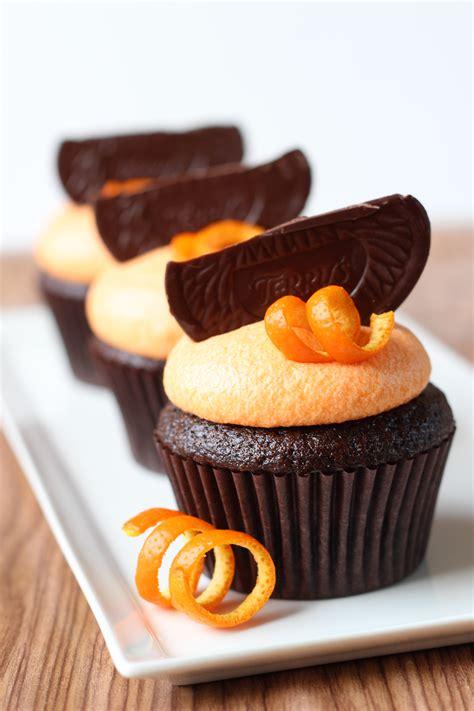 orange chocolate chocolate orange cupcakes recipe dishmaps