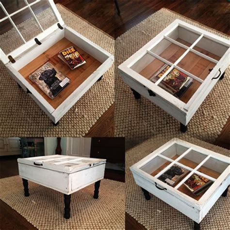 HOME DZINE Craft Ideas   Ideas for using reclaimed window