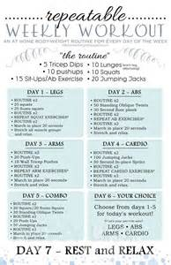 workout plan for at home 25 best ideas about beginner workout plans on pinterest