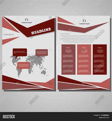 brochure layout eps brochure design layout template vector photo bigstock