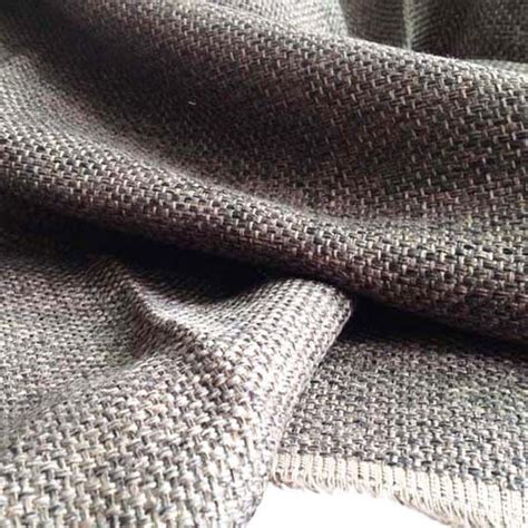 fabric for sofa upholstery 1 yard 91 145cm brown jute look fabric for sofa furniture