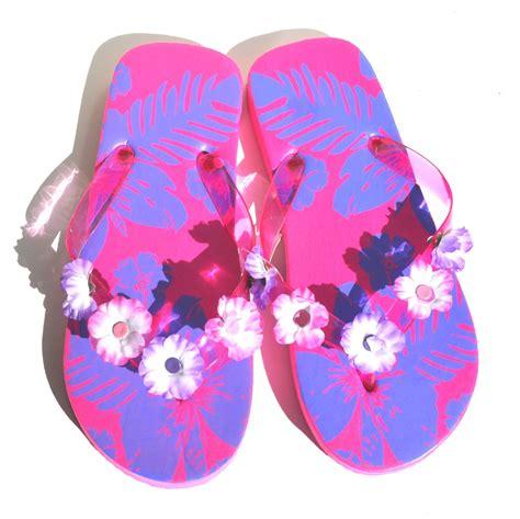 Flip Flop Flowers flower flip flop sandals 28 images pink hawaiian