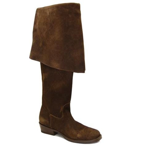 pirate boots chocolate brown sparrow