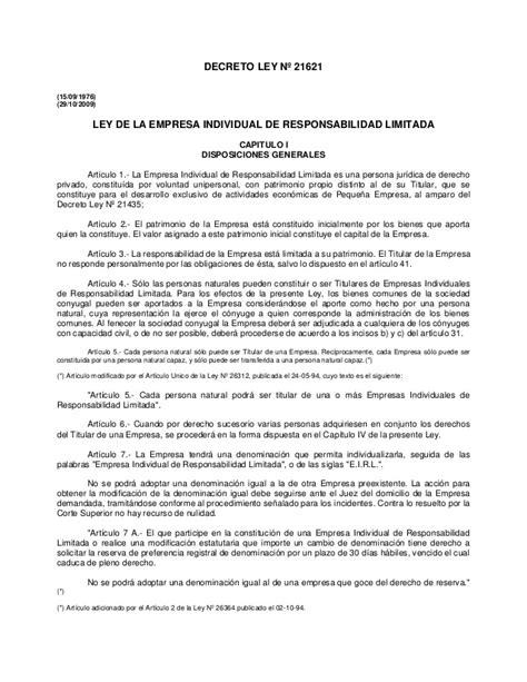 minutas modelo eirl ley de empresa individual responsabilidad limitada eirl