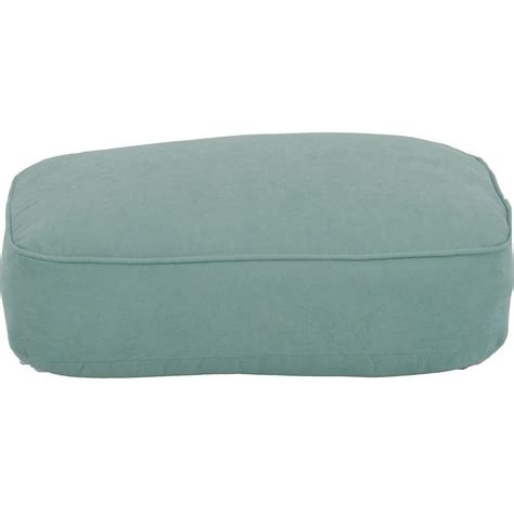 Outdoor Ottoman Cushions Martha Stewart Living Bay Lake Adela Surf Replacement Outdoor Ottoman Cushion Fra62036f