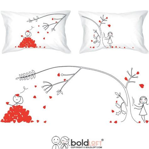 valentines gifts for new relationships boldloft you madly couples pillowcases valentines