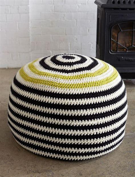 free knitted pouf pattern 432 best images about crocheted rugs pillows on