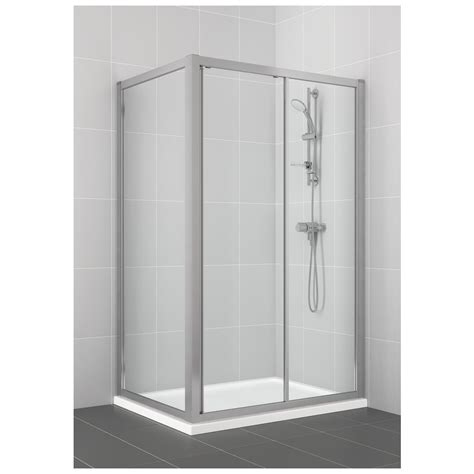 Shower Doors 1200mm Product Details L6648 1200mm Slider Shower Door Ideal Standard