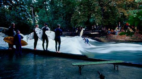 Surfing Germany by Surf The Eisbach Munich S River Wave