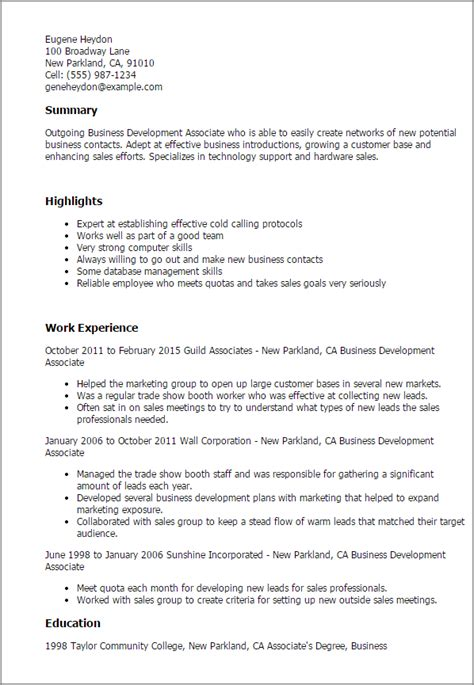 Business Resume Template Free Professional Resume Templates Livecareer