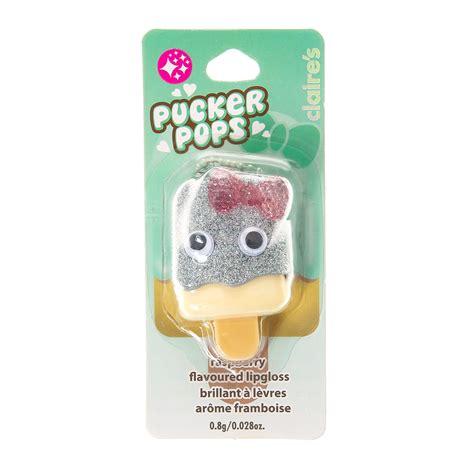 Trolls Pucker Pops Lip Gloss raspberry flavoured pucker pops lipgloss pucker pops