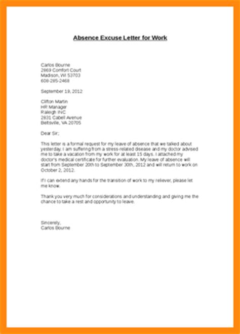 Apology Letter Of Absence abandonment letter how to format a cover letter