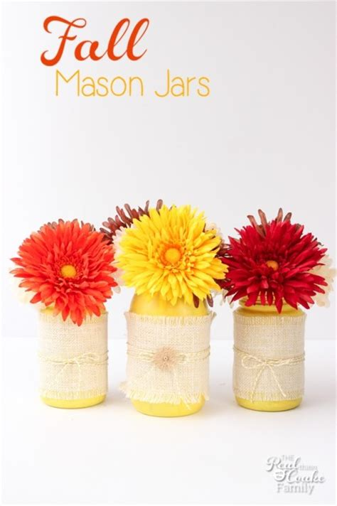 Halloween Main Dish Recipes - mason jar crafts fall craft fail