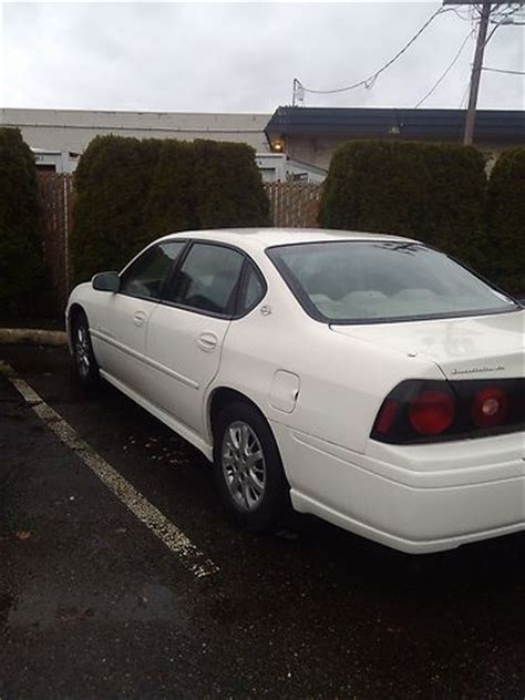 automobile air conditioning service 2002 chevrolet impala user handbook sell used 2004 chevrolet impala ls sedan 4 door 3 8l in bellevue washington united states