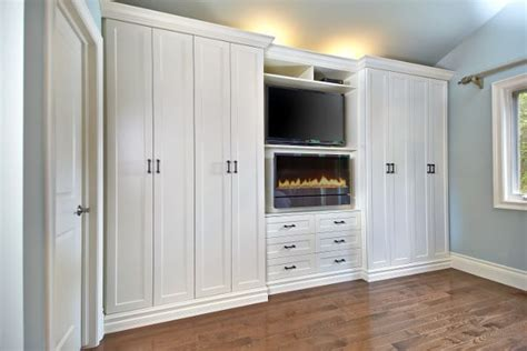Bedroom Wardrobe Wall Unit Wall Unit Fireplace Armoire Bedroom Electric Fireplaces Master Bedrooms And