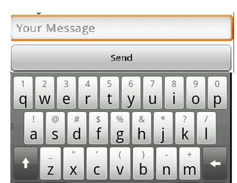 android hide keyboard android hide the tabbar when keyboard display stack overflow