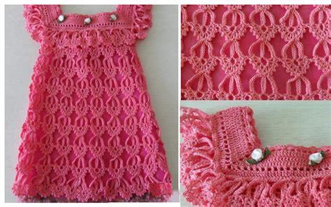 vestido nia crochet el m 225 s hermoso vestido en crochet para ni 241 as