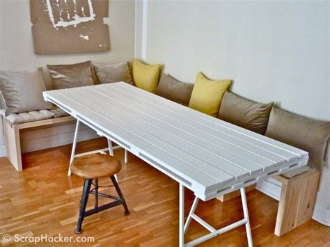 40 Creative Pallet Furniture Diy Ideas And Projects Diy Dining Table Ideas
