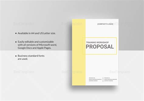 design workshop proposal training workshop proposal template in word google docs