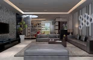 Modern interior design living room download 3d house