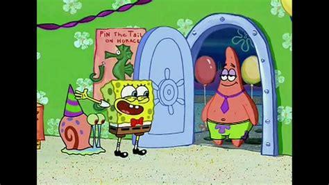 spongebob house party sponge bob house party youtube