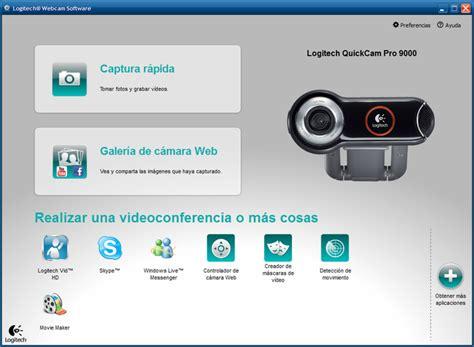 hd web software software de c 225 mara web logitech hd descargar