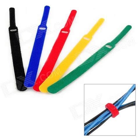 Stylish Cable Ties 8 Pack kx 35 stylish velcro cable tie organizer mbyt ru