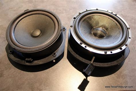 Tesla Model S Sound System Review Tesla Model S Standard Audio Speaker Upgrade By Light Harmonic