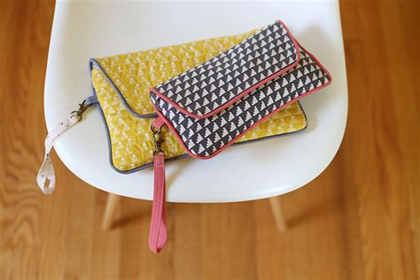pattern envelope clutch envelope clutch pdf pattern noodlehead