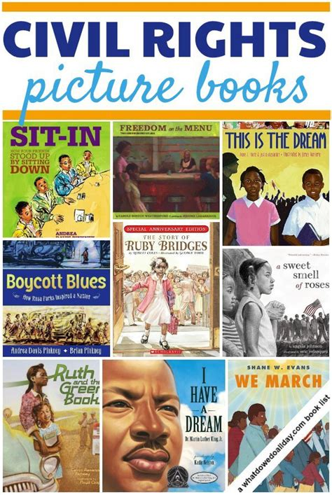 13 Civil Rights Picture Books For