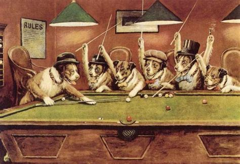 imagenes de animales jugando poker 15 cosas increibles que no sabias de perros jugando al poker