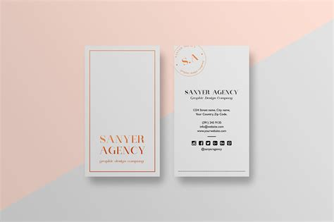 create inspirational cards template stylish minimal business card template inspiration cardfaves