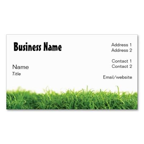 Landscaping Business Cards Templates Free by Lawn Care Business Card Lawn Care Business Lawn Care