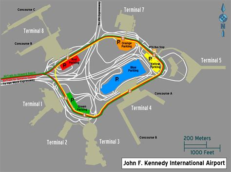 jfk map kennedy airport map bliblinews