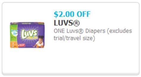 printable luvs diaper coupons blog