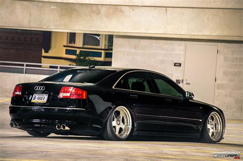 Audi A8 D3 Tuning by Stanced Audi A8 D3 2010 187 Cartuning Best Car Tuning