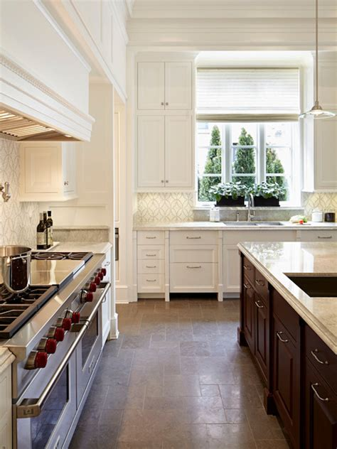 timeless backsplash akdo eternity timeless thassos transitional kitchen burns and beyerl architects