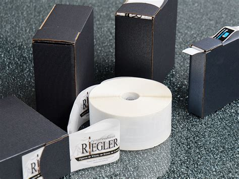 Logo Aufkleber Auf Rolle by Etiketten Auf Rolle Drucken Schnell G 252 Nstig
