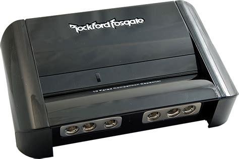 rockford fosgate rfc10hb capacitor rockford fosgate rfc10hb hybrid digital stiffening capacitor and distribution block at