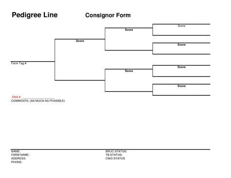 free dog pedigree chart template dog breeds picture