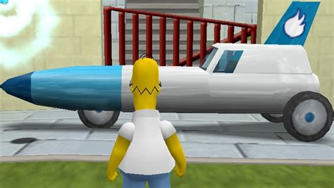 Get Simpsons Rocket by The Simpsons Hit Run Physics