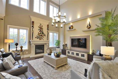 Decorating A Large Living Room With High Ceilings - 15 inspirations of high ceiling wall accents