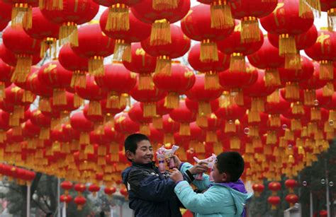 Decoration China by Jan 24 Daily Brief New Year Decorations