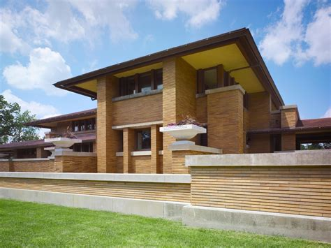 frank lloyd wright prairie style architecture traditional classic home design of frank