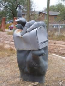 42 cool and unusual mailbox designs design swan
