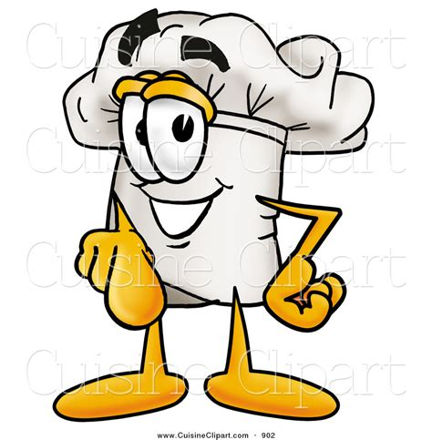 clipart cuisine cuisine clipart of a smiling chefs hat mascot